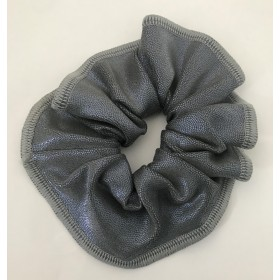 Gun Metal Scrunchie